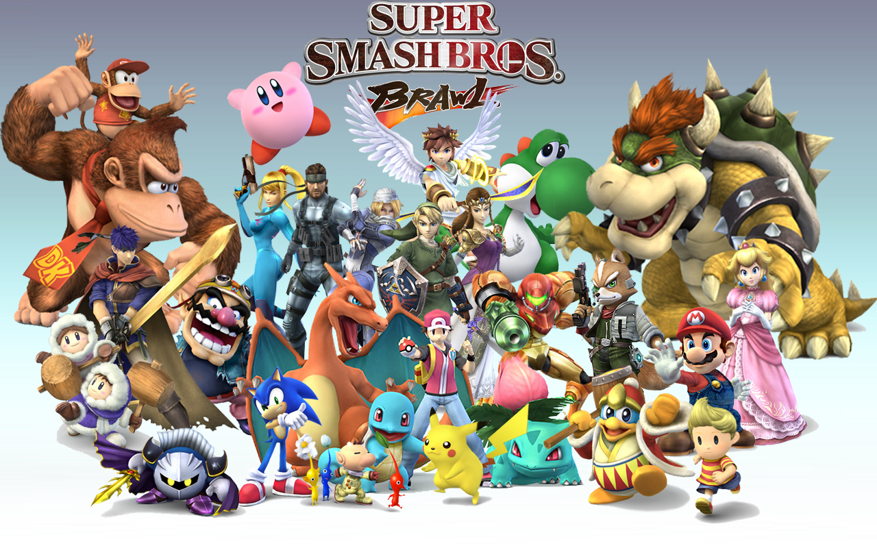 Smash Is A Crossover Game For Actualgame Characters