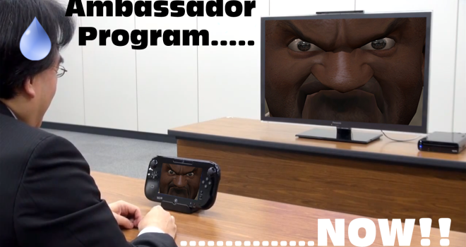 wii u ambassador program