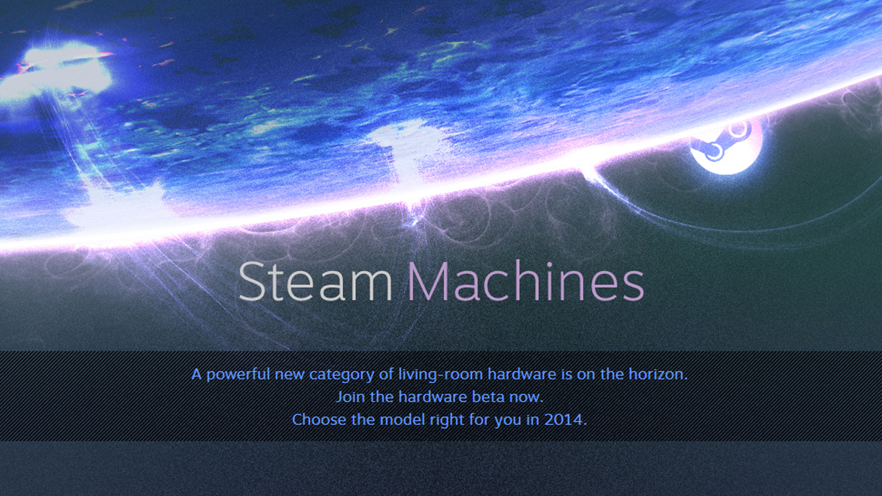 Valve Announces Steam Machines: Powerful Hardware Headed to the Living Room!