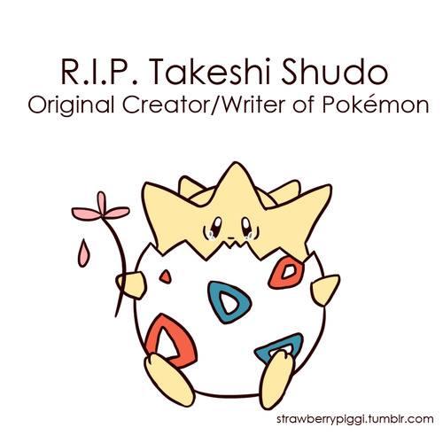 Original creator/writer of Pokemon Passed away