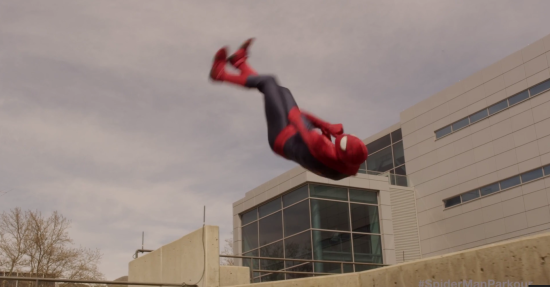 Cool Video: Your Freerunning Neighborhood Spider-Man