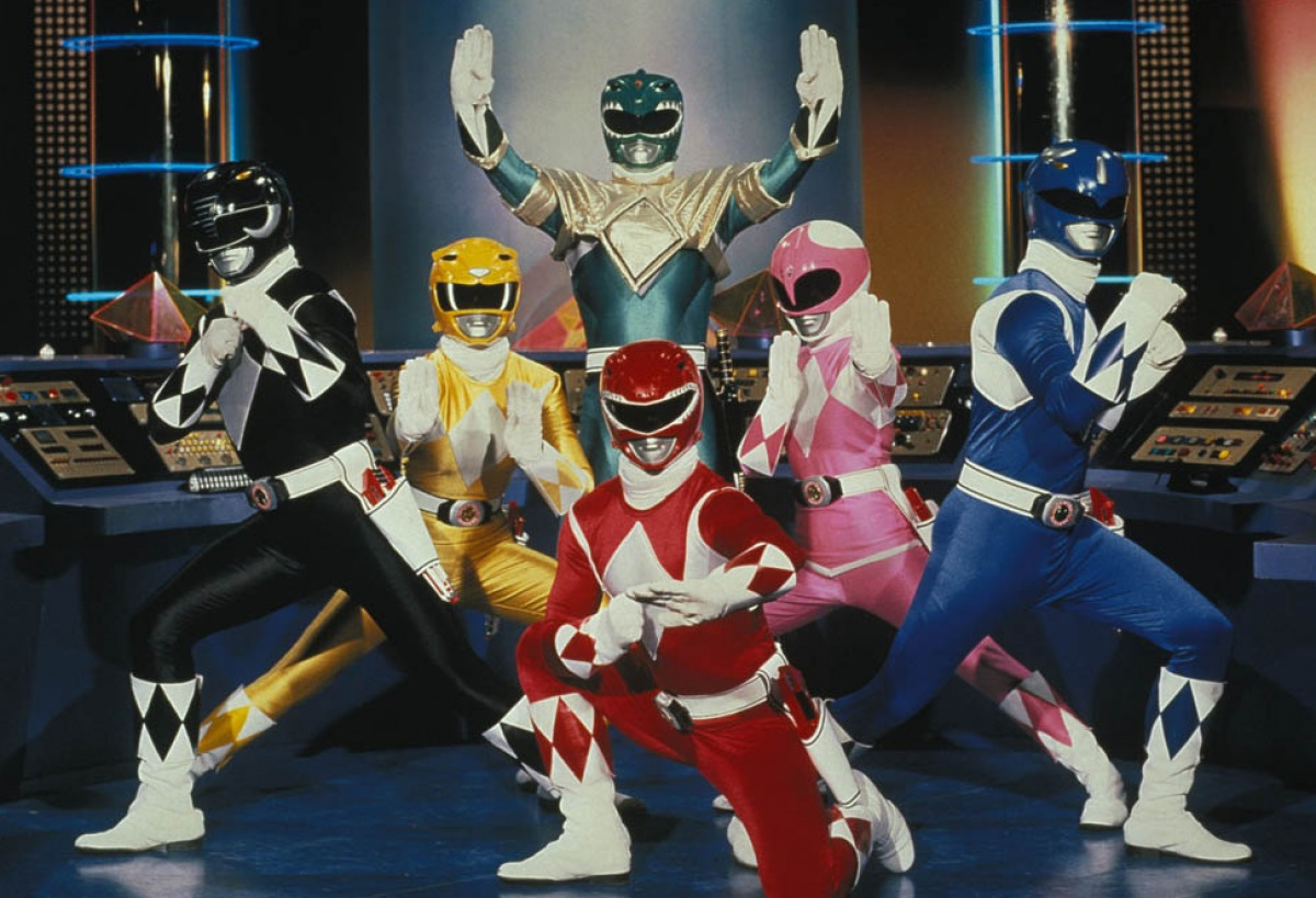 New Power Rangers Movie Happening!