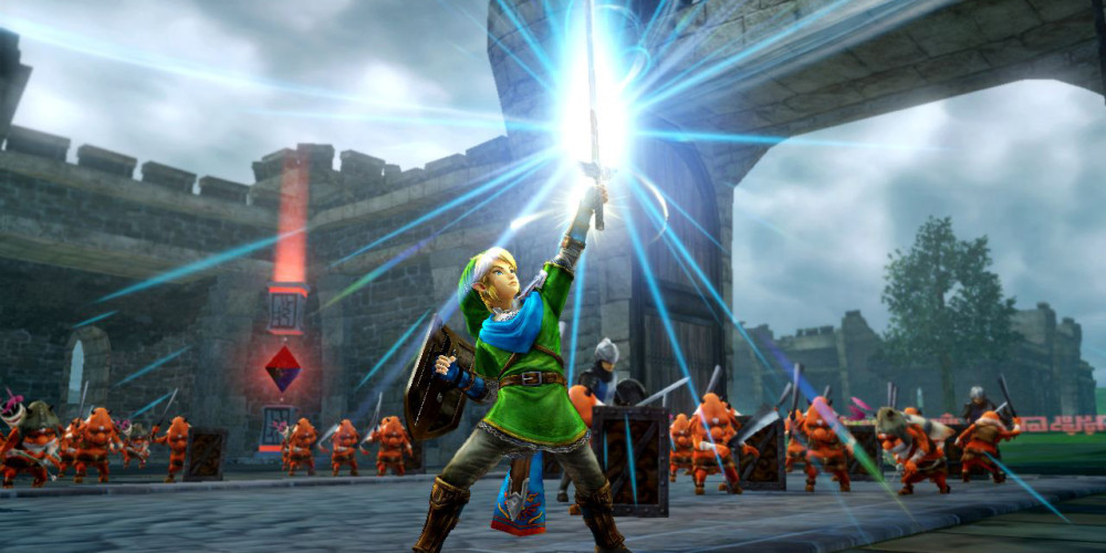 Hyrule-Warriors link sword