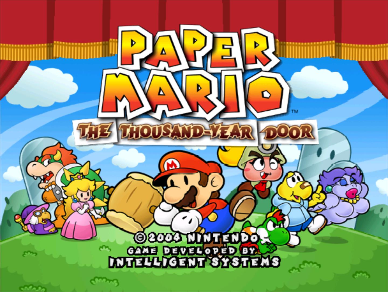 Rumor paper mario the thousand year door 3d leaked for 1000 year door