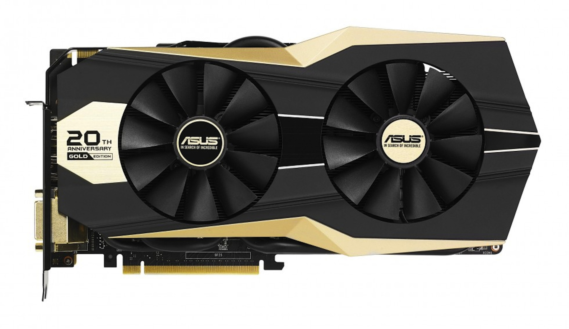 ASUS Releasing a Limited Edition 20th Anniversary Graphics Card